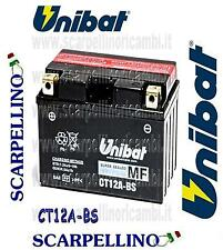 BATTERIA UNIBAT CT12A-BS PER KYMCO PEOPLE GTI 200 cc DAL 2010 -BATTERY- YT12A-BS