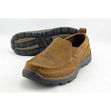 Skechers Superior-Gains Men US 9.5 Brown Moc Loafer Pre Owned  1325