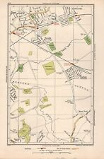 1933 LONDON MAP- RUISLIP,EASTCOTE,SOUTH RUISLIP,NORTHOLT JUNCTION,WEST END