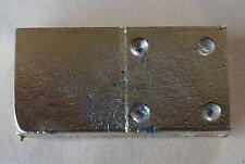 Fève en métal doré des années 90 - Un Domino : 4 / 0