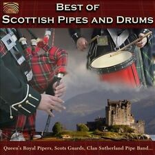 Best of Scottish Pipes and Drums by Various Artists (CD, Jan-2012, Naxos of...