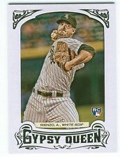 2014 Topps Gypsy Queen Andre Rienzo White Sox RC Framed White Border Parallel