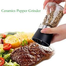 Salt and Pepper mill grinder Glass Pepper grinder Shaker Spice Salt Container