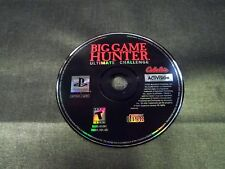 cabellas big game hunter ultimate challenge ps1 disc only