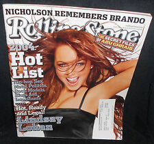 ROLLING STONE -  ISSUE  #955 - LINDSAY LOHAN / THE HOT LIST - AUGUST 2004