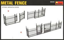 METAL FENCE (WITH GATE) 1/35 MINIART
