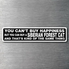 Buy a Siberian Forest Cat sticker quality 7 yr water/fade proof vinyl kitten