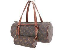 Authentic LOUIS VUITTON Papillon 30 Monogram Hand Bag Purse Old Style #24350