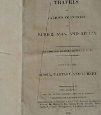 Travels in Various Countries of Europe, Asia, and Africa - Clarke Part the First