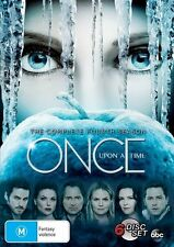 Once Upon A Time : Season 4 (DVD, 2016, 6-Disc Set) - excellent condition