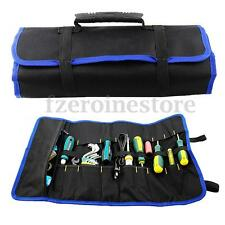 Hot Folding Hardware Tool Roll Plier Screwdriver Spanner Carry Case Pouch Bag