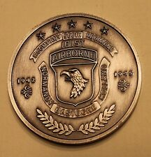 101st Airborne E Co 506th Regt Band of Brothers HBO Series Army Challenge Coin