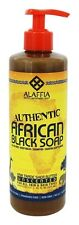 Alaffia - Authentic African Black Soap Unscented - 16 oz.