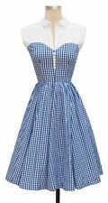 Trashy Diva Blue Gingham Hopscotch Dress Size 2