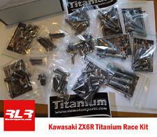 Kawasaki ZX6R  2012-15 Full Race Titanium bolt kit