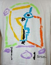 VTG Picasso T Shirt XL New w Tags 90's 80's Barcelona Spain Art