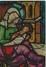 Geburt Christi - Ausschnitt aus einem Glasfenster Königsfelden/Schweiz