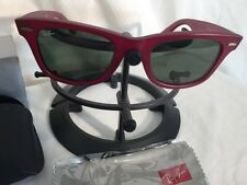 RB 2140 888  RAY BAN Original WAYFARER Sunglasses Matte Red 50mm FREE SHIPPING