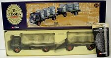 Corgi Guiness Leyland Beaver Platform Lorry with Trailer & Tanks 24901