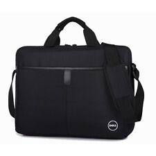 "15.6"" Black Laptop Shoulder Bag Business Messenger Handbag Briefcase For Dell"