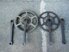 VINTAGE TANDEM BICYCLE COTTERED CHAINSET, WILLIAMS CIRCA 1930'S,1/8 INCH CHAIN