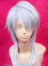 HOT~ PSYCHO-PASS Shogo Makishima Short Sliver White Cosplay Party Wig