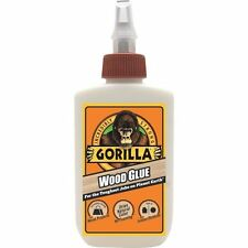 4OZ GORILLA WOOD GLUE STRONGEST GLUE/ADHESIVE IN THE JUNGLE