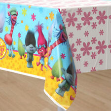 Trolls Plastic Table Cover Birthday Party Decoration Supplies Tablecloth Pink