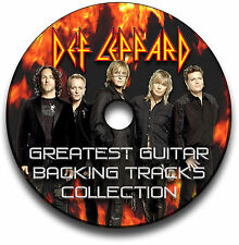 30 DEF LEPPARD HEAVY ROCK STIL GITARRE MP3 PLAYBACK TITEL CD ANTHOLOGY LIBRARY