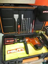 HILTI TE 5 DRILL, EXCELLENT CONDITION, FREE HILTI FLASHLIGHT & EXTRAS,FAST SHIP