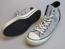 CONVERSE All Star CT As Hi Tri Zip Lace Up Gray Suede Shoes 544845C Women's 9.5