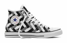 Converse All Star Chuck Taylor Woven High Casual Sneakers 10 Men's - 12 Women's