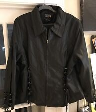 TORRID LAMB LEATHER JACKET FROM 2005! NEVER WORN! SZ 3 BEAUTIFUL!!!