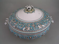 WEDGWOOD FLORENTINE TURQUOISE VEGETABLE TUREEN.