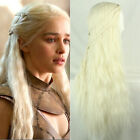 Game of Thrones Dragon Princess Daenerys Targaryen Braids cosplay wigs 70CM New