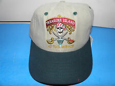Treasure Island Resort at the Mirage Las Vegas Two Tone Logo Hat (NWT)