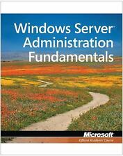 Exam 98-365 MTA Windows Server Administration Fundamentals, , Microsoft Official