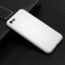 High quality Leather Ultra Thin Matte Soft Case Cover For iPhone 6 6S 7 7Plus