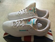 Reebok Freestyle Low White Size 8.5 Brand New In Box!