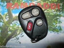 12223130-50 OEM CADILLAC CTS REMOTE KEY FOB 12223130 4 BUTTON #2 Transmitter
