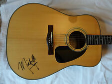 SIGNED MICHELLE BRANCH AUTOGRAPHED FENDER GUITAR WITH EXACT PROOF NICE!