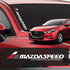 FRONT WINDOW DECAL FOR MAZDASPEED
