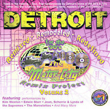 DETROIT - THE MOTOR CITY REMIX PROJECT CD VOLUME 2 - BRAND NEW & FACTORY SEALED