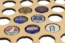 Beer Cap Traps Beer Bottle Shaped Beer and Soda Cap Display Organizer