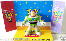 Disney Pixar TOY STORY Action Figure BUZZ LIGHTYEAR on Custom Display Stand #2