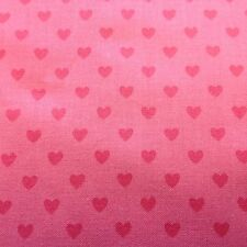 Pam Kitty Love Tonal Hearts ~ Holly Holderman ~ Lakehouse ~ LH 12068 Coral ~ BTY
