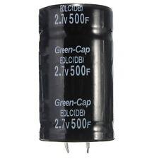 Black 2.7V 500F 35*60MM Super Farad Capacitor