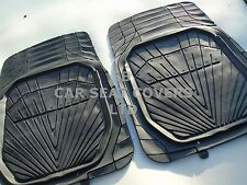 i - TO FIT A VOLVO S80 CAR MATS, ALL TERRAIN HEAVY PVC, MH-002 BLACK