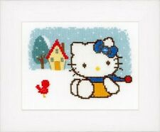 Hello Kitty - Winter - Vervaco Cross Stitch Kit New