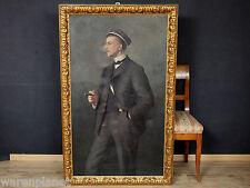 M. SCHEEL 1906 ÖL GEMÄLDE ANTIK BURSCHENSCHAFTER PORTRAIT BERLIN STUDENTIKA